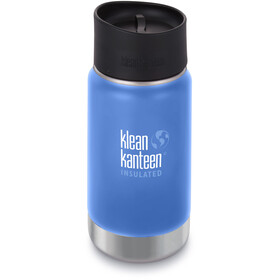 Klean Kanteen Wide Vacuum Insulated Bottle Café Cap 2.0 355ml, pacific sky